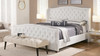 Marcella Upholstered Bed, King, Bright White