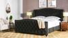 Marcella Upholstered Bed, King, Jet Black