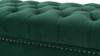 Renee Tufted Storage Bench, Evergreen