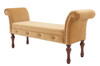 """Elise 60"""" Roll Arm Entryway Bench"""