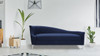 Celeste Tight Back Chaise Lounge, Midnight Blue