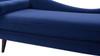 Kai Chaise Lounge, Navy Blue