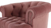 La Rosa Tufted Accent Chair, Ash Rose