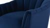 Sienna Accent Arm Chair, Navy Blue
