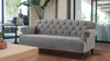 "Mackenzie 79"" Tufted Rolled Arm Sofa"