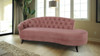 Delaney Chaise Sofa, Ash Rose