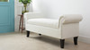 """Kathy 53"""" Roll Arm Entryway Accent Bench"""