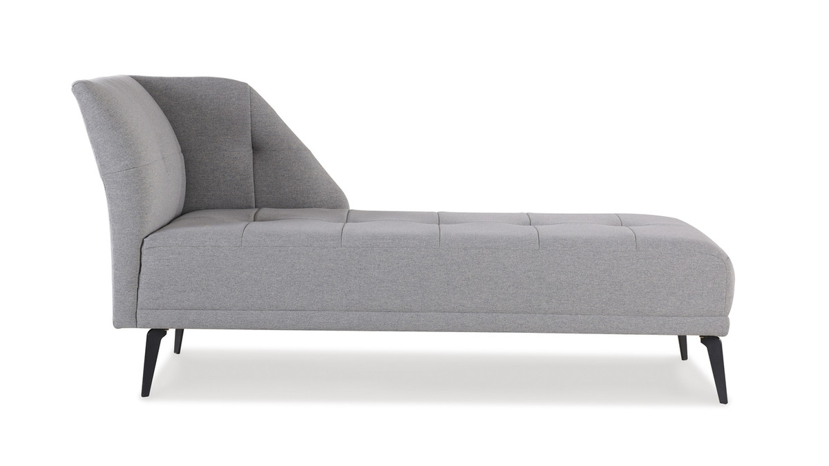 Bexley Chaise, Light Grey