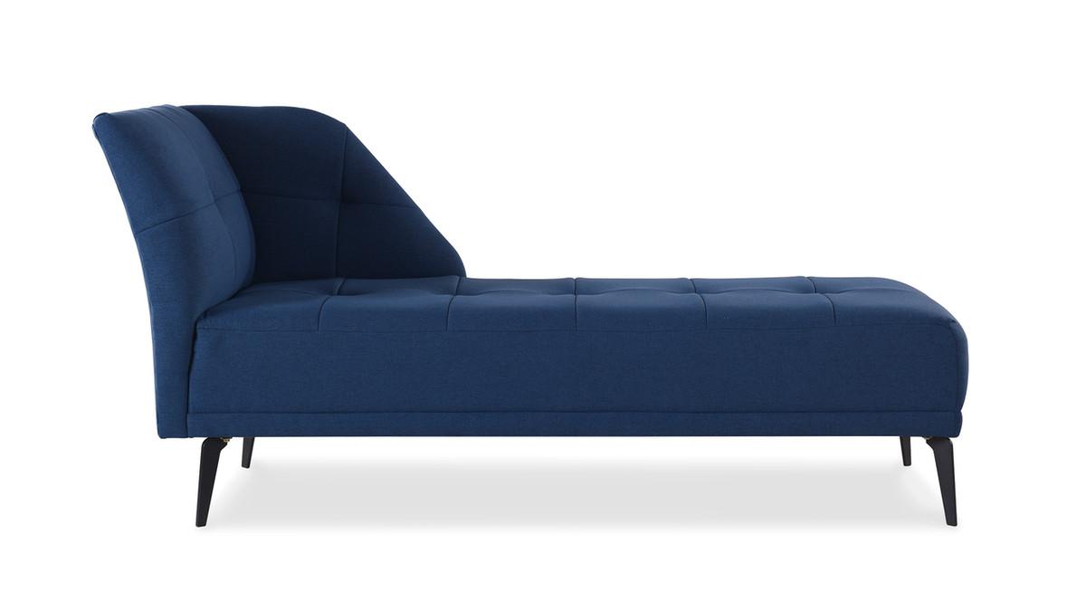 Bexley Chaise, Dark Sapphire Blue