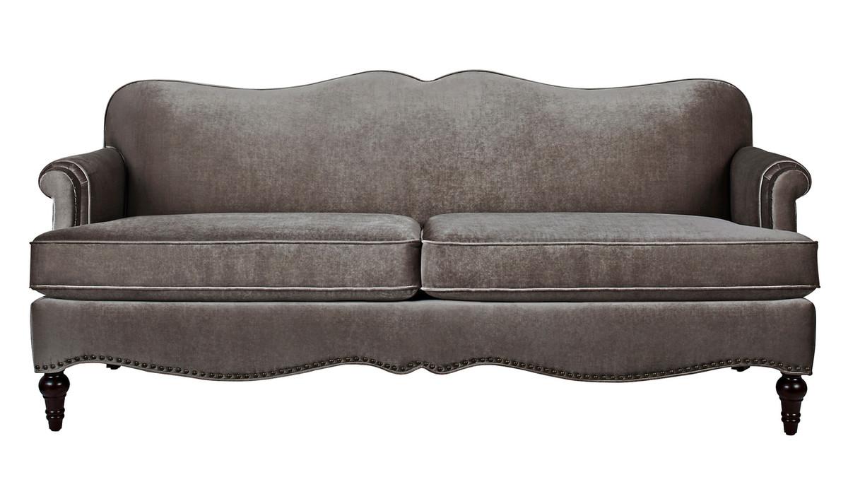 Legacy Camel Back Sofa, Grey
