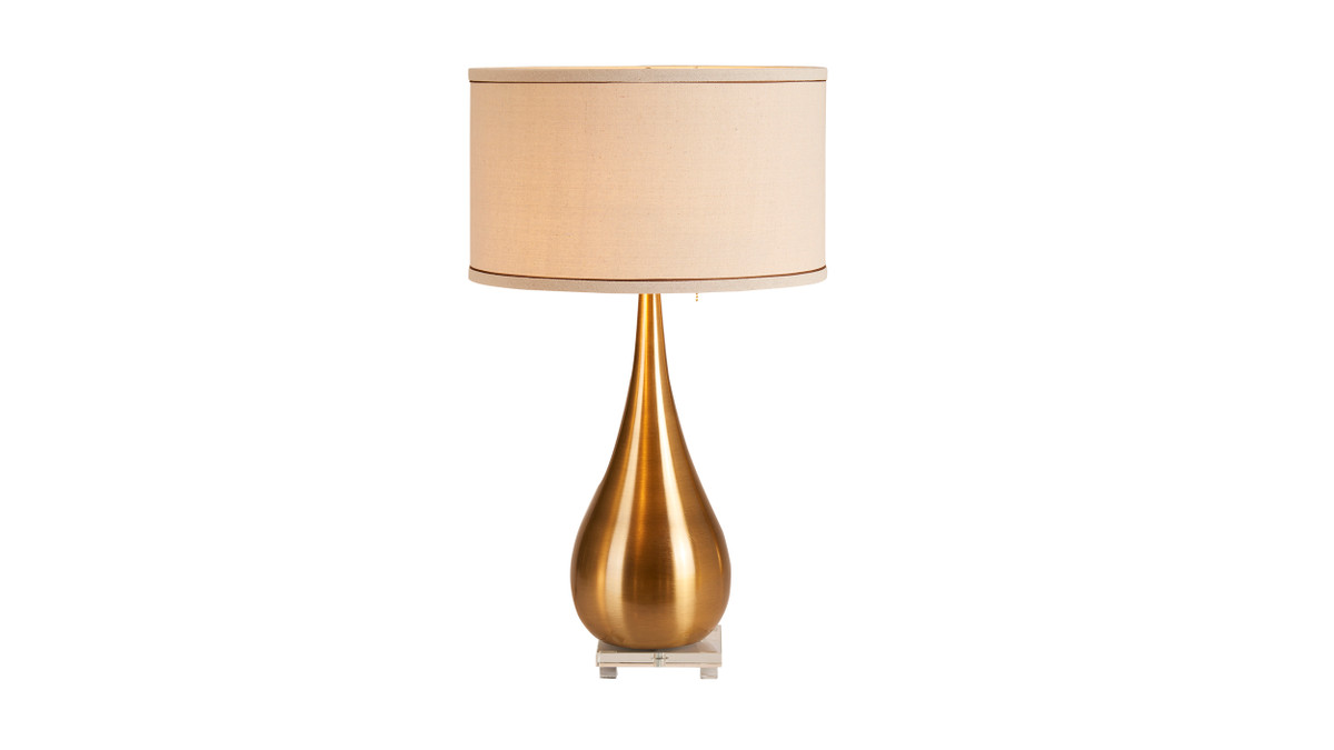 "15"" Beaune Teardrop Table Accent Lamp"