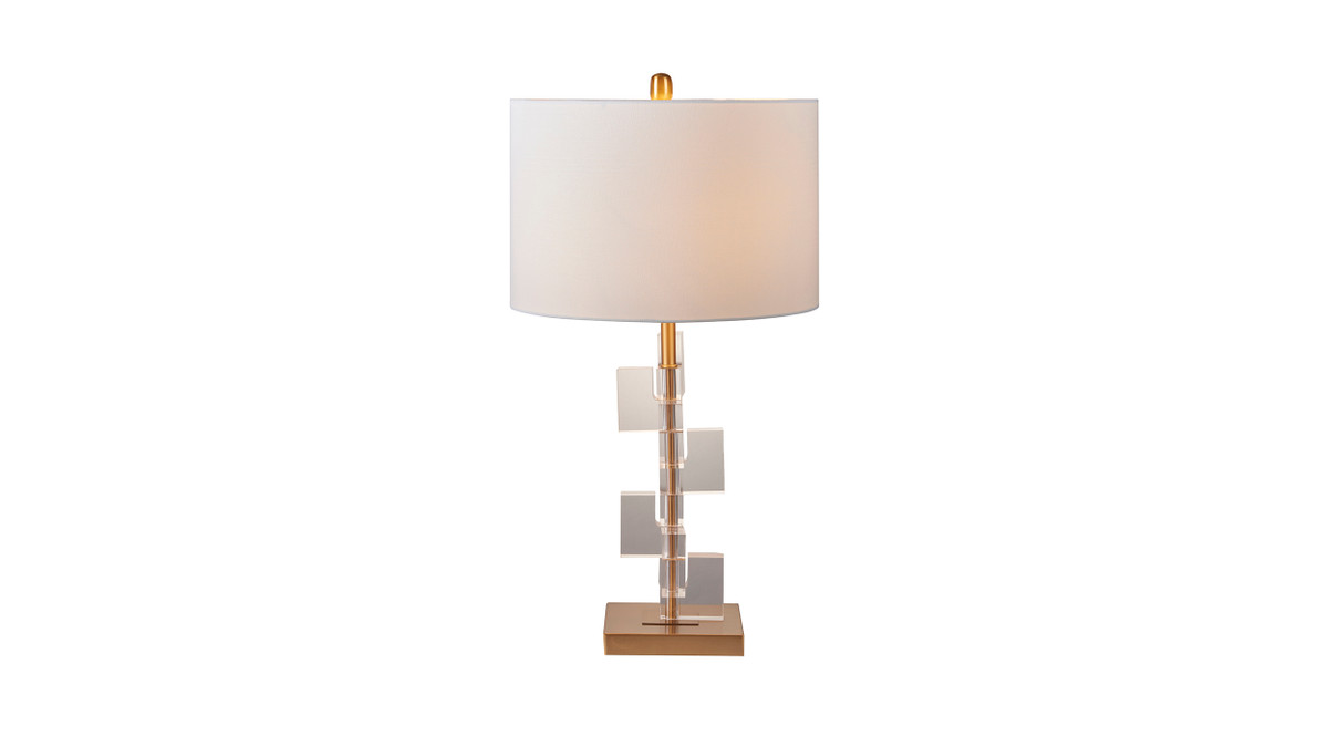 "15"" Muret Modern Accent Table Lamp"