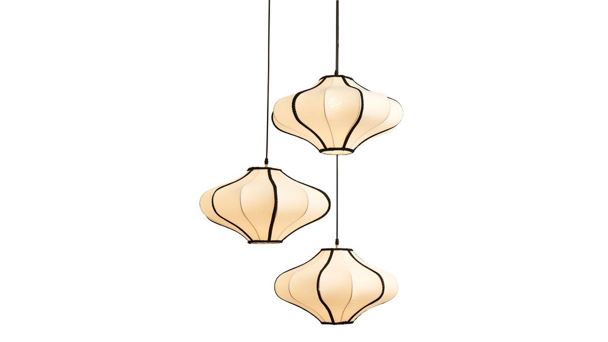 Soissons 3 Pendant Glass Hanging Lamp