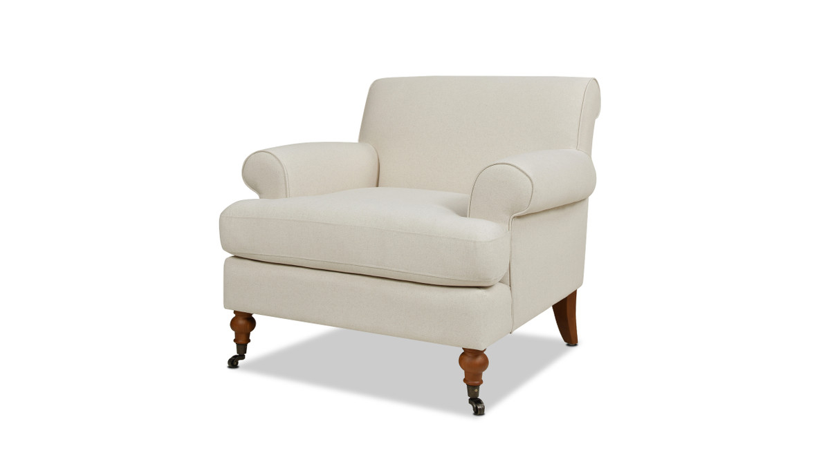 Alana Lawson Chair, Light Beige