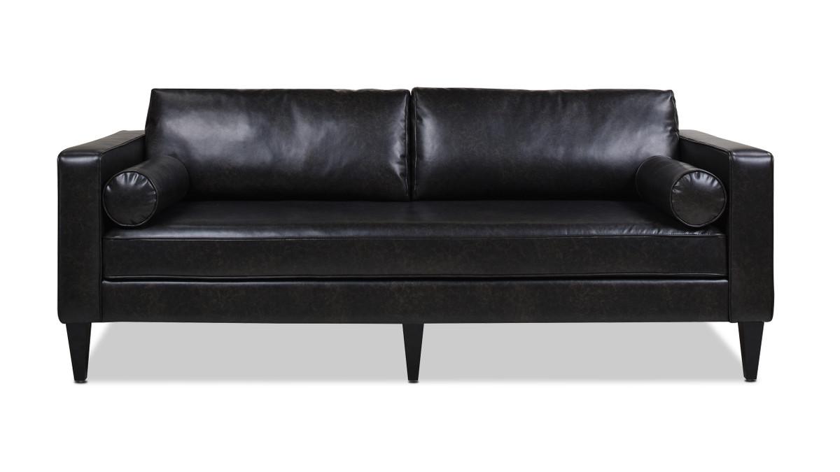 Nicholi Lawson Sofa, Vintage Black Brown