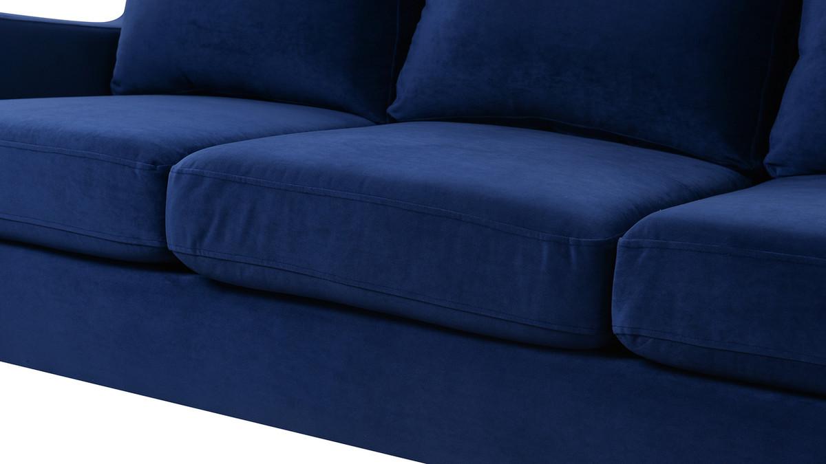 Serena Lawson Sofa Navy Blue Jennifer Taylor Home