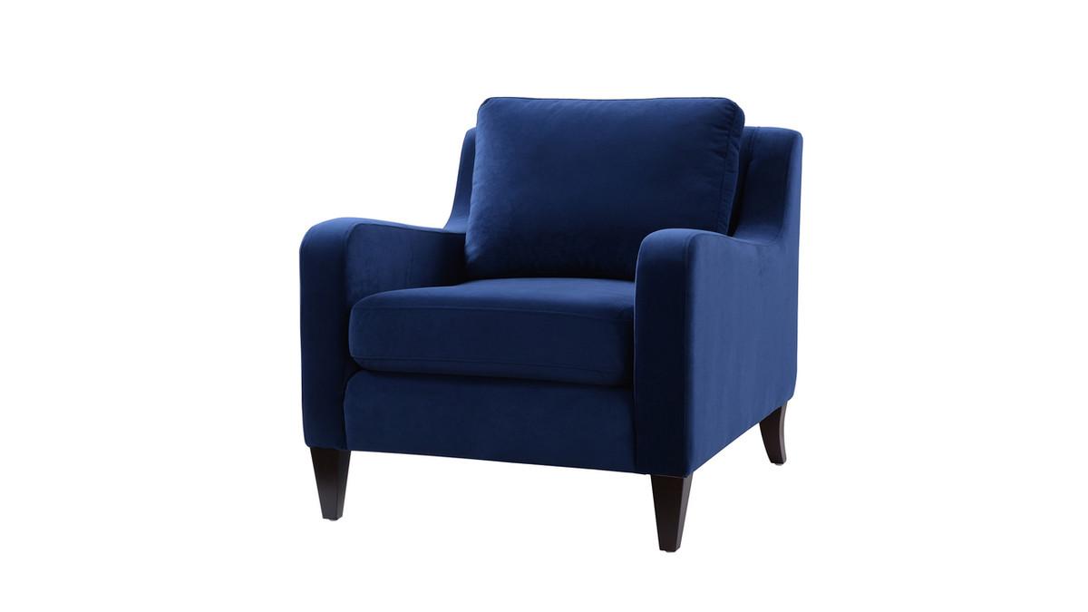 Serena Lawson Chair, Navy Blue