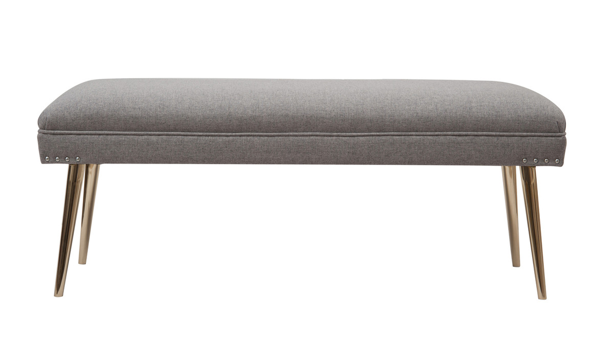 Pamela Entryway Bench, Light Grey