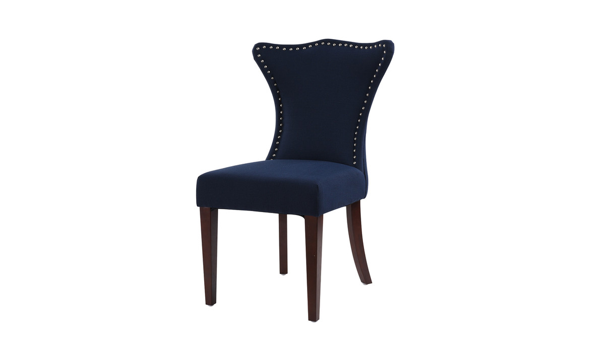 Lorena Accent Parsons Chair, Midnight Blue