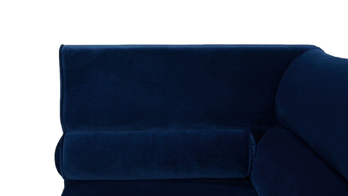 Superb Joanna Camel Back Uptown Loveseat Navy Blue Onthecornerstone Fun Painted Chair Ideas Images Onthecornerstoneorg