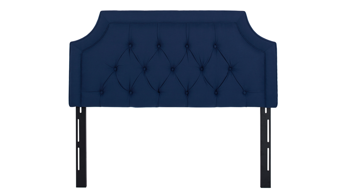 Kaye Tufted Headboard, Midnight Blue (Queen Size)