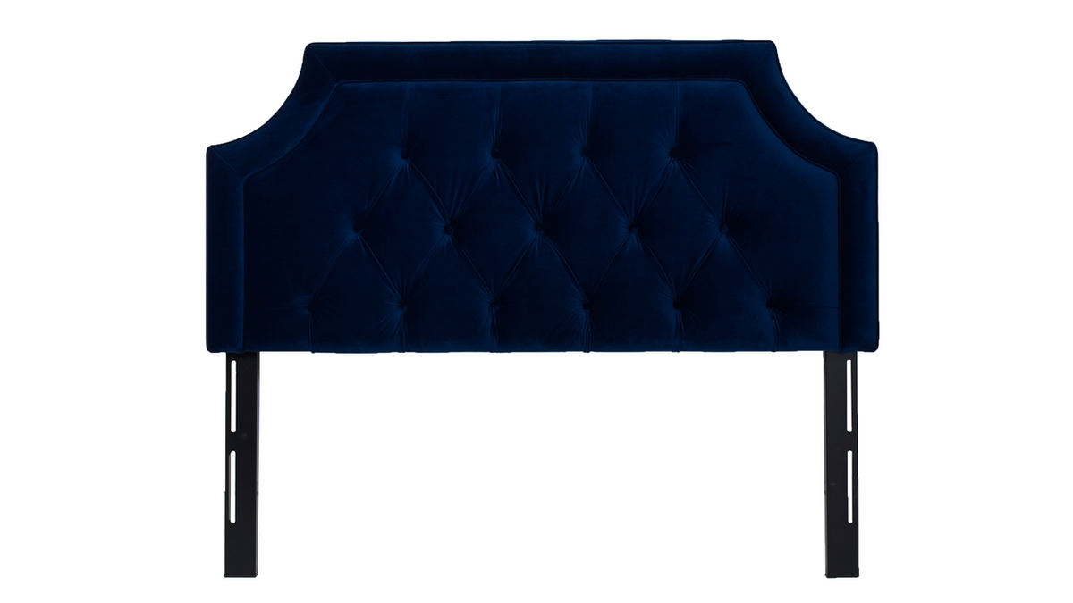 Kaye Tufted Headboard, Navy Blue (Queen Size)