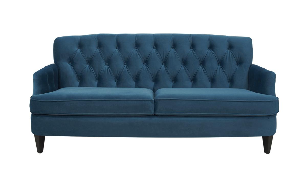 """Kelly 75"""" Hand Tufted Sofa"""