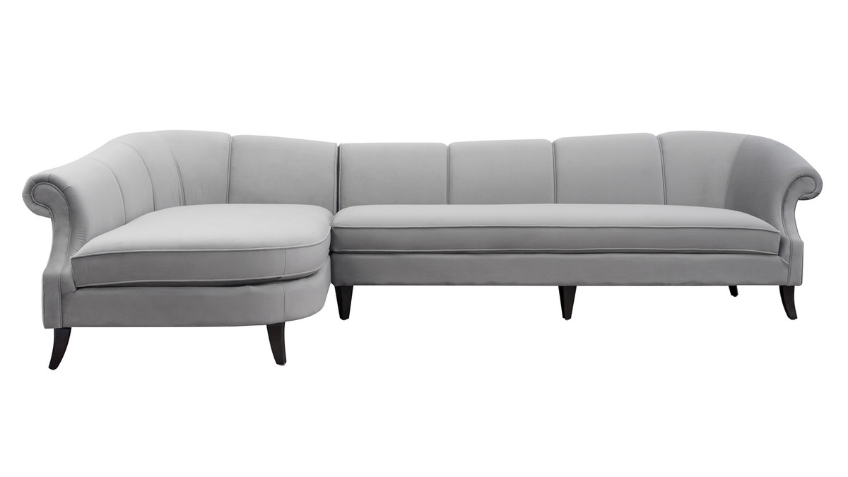 """Victoria 131"""" Upholstered Sectional Sofa"""