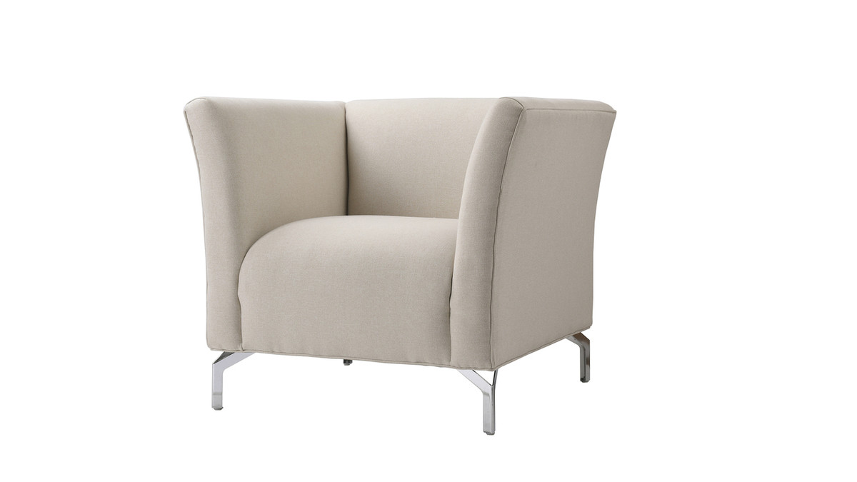 Camilla Mid-Century Modern Chair, Sky Neutral