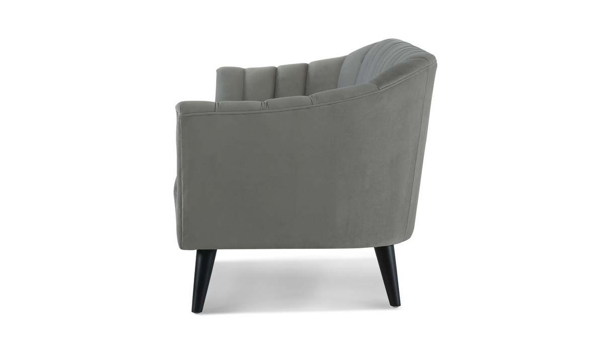 Awe Inspiring Sienna Accent Sofa Opal Grey Machost Co Dining Chair Design Ideas Machostcouk