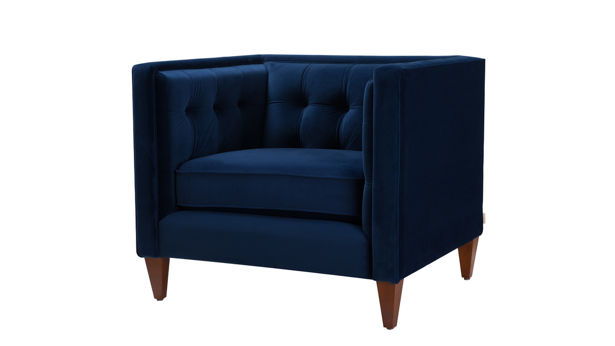 Jack Tuxedo Arm Chair