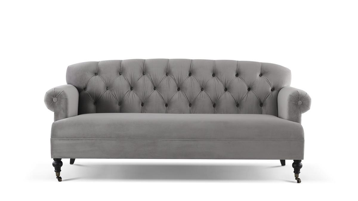 "Mackenzie 79"" Tufted Rolled Arm Sofa"