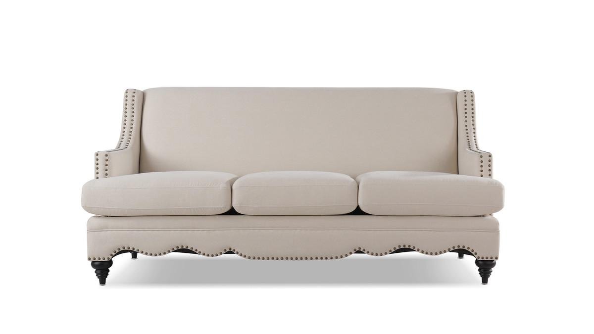 Marisole Recessed Sofa, Sky Neutral