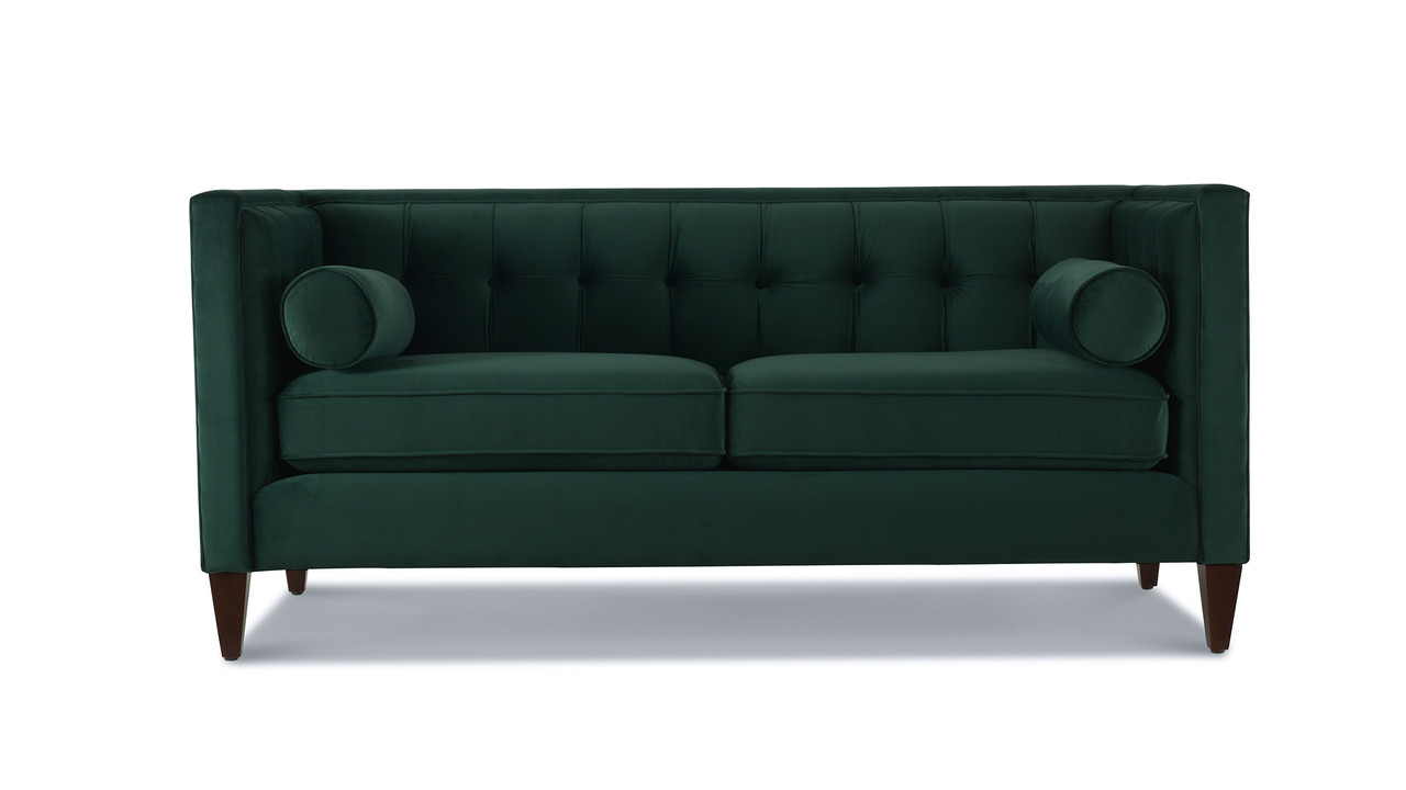 Tremendous Jack Tuxedo Loveseat Hunter Green Caraccident5 Cool Chair Designs And Ideas Caraccident5Info