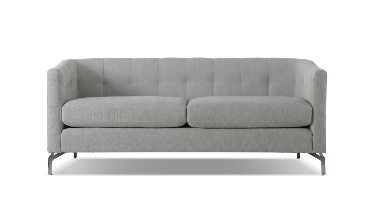 Arlene Modern Contemporary Sofa, Mineral Grey