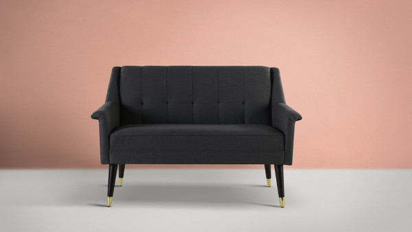 Dinah Settee, Dark Grey