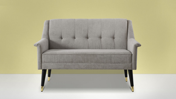 "Dinah 52.5"" Channel Tufted Settee"