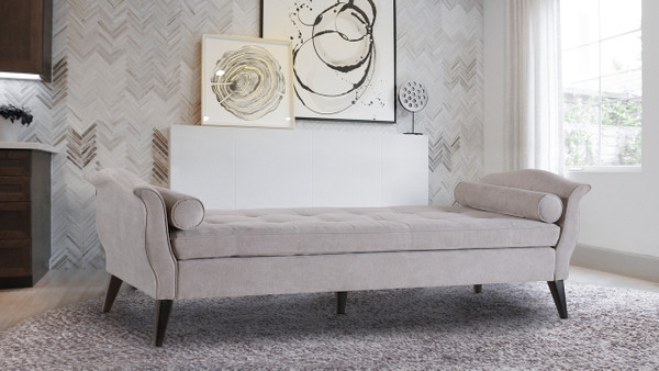 Robinson Daybed, Silver Grey