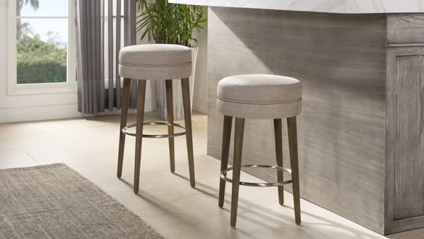 "Vesper 30""  Bar Stool, Country Grey"