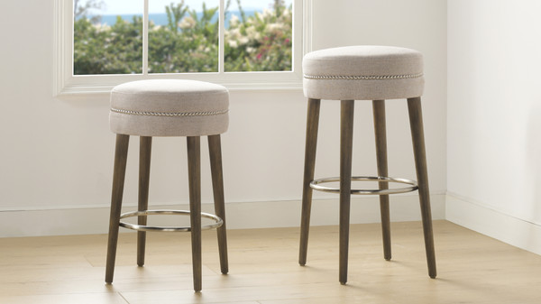 "Vesper 26""  Bar Stool, Country Grey"