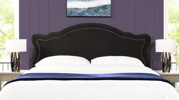 Legacy Upholstered Headboard, Dark Charcoal Grey (King Size)