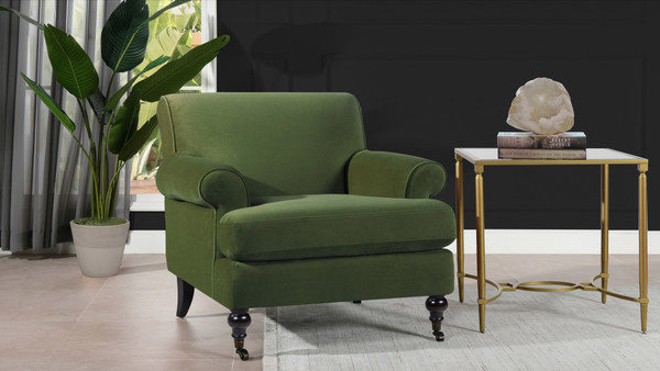 Alana Lawson Chair, Olive Green