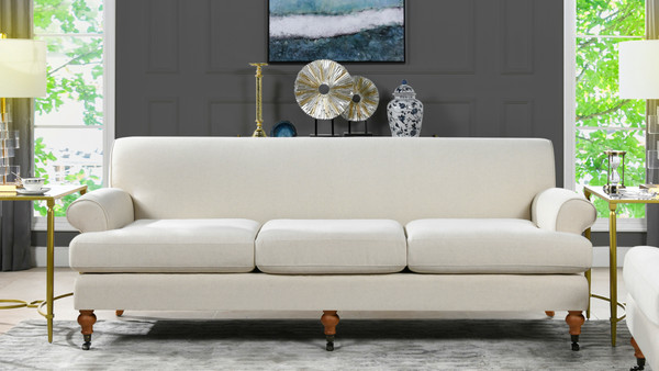 Alana Lawson Sofa, Light Beige