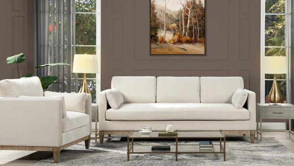 "Knox 84"" Modern Farmhouse Sofa"