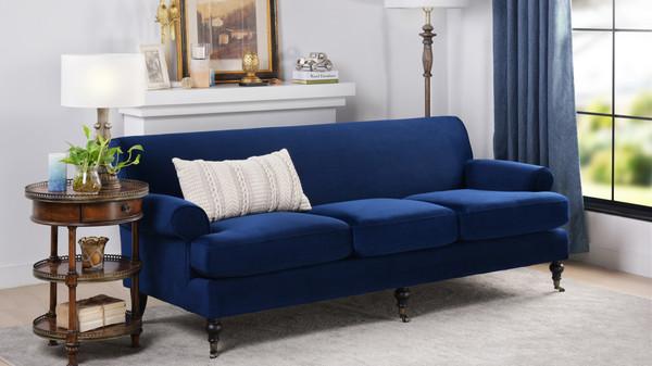 Alana Lawson Sofa, Navy Blue