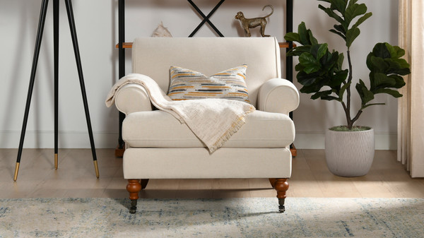 Alana Lawson Chair, Sky Neutral