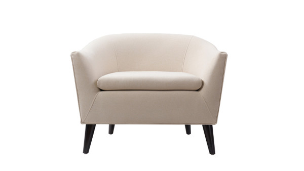 Lia Barrel Chair, Sky Neutral
