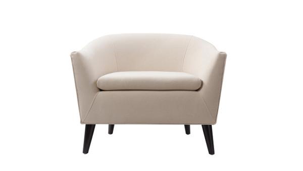 Lia Barrel Chair, Sky Neutral