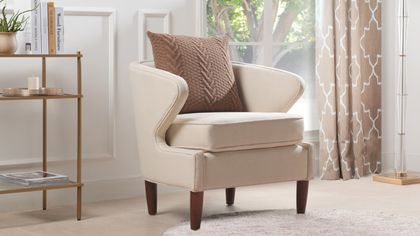 Sophia Accent Chair, Sky Neutral