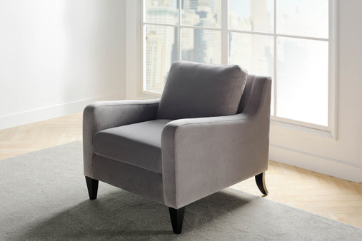 Serena Lawson Chair, Opal Grey